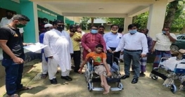 নলডাঙ্গা বিশেষ চাহিদা সম্পন্ন ১২ জনকে হুইল চেয়ার প্রদান