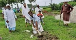নলডাঙ্গায় হাফেজিয়া মাদ্রাসার ভিত্তিপ্রস্তর স্থাপন