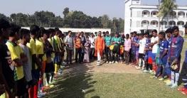 বাগাতিপাড়ায় দুই দিনব্যাপি আদিবাসি ফুটবল টুর্ণামেন্টের উদ্বোধন