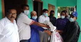 নলডাঙ্গায় ১০৩ জন নিম্নআয়ের মানুষের মাঝে খাদ্যসামগ্রী বিতরণ