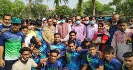 নলডাঙ্গায় মুজিববর্ষে ব্যতিক্রমী ক্রিকেট লীগ
