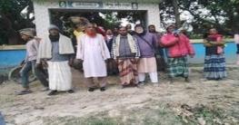 নলডাঙ্গায় স্থানীয়দের উদ্যোগে কেন্দীয় গোরস্থানে মাটি ভরাট