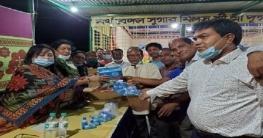 লালপুর-বাগাতিপাড়া পূজা উদযাপন পরিষদের সাথে উমা চৌধুরীর মতবিনিময়