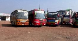 নাটোরে দূরপাল্লার কোচ ও লোকাল বাস চলাচল করলেও স্বাভাবিক নয়