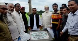 বাগাতিপাড়ায় রাস্তার উন্নয়ন কাজের ভিত্তিপ্রস্তর স্থাপন