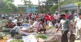 লালপুরের গোপালপুর পৌর বাজারে মানা হচ্ছে না সরকারী স্বাস্থ্যবিধি