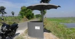 সিংড়ার বড় বারৈহাটিতে পথচারীদের জন্য বসার সু ব্যবস্থা