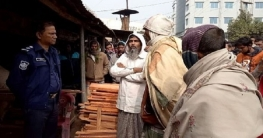 বাগাতিপাড়ার তমালতলা বাজারে নৈশপ্রহরীকে বেঁধে দোকানে ডাকাতি