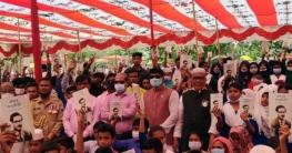 নলডাঙ্গায় শিক্ষার্থীদের বঙ্গবন্ধুর অসমাপ্ত আত্মজীবনী বই বিতরণ