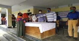 নাজিরপুর ইউনিয়ন পরিষদের উদ্যোগে স্বাস্থ্য সুরক্ষা সামগ্রী বিতরণ