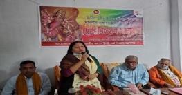 নাটোরে শারদীয় দুর্গাপূজা উদযাপনে বরাদ্দের চেক বিতরণ