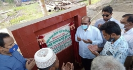 বড়াইগ্রামে মুক্তিযোদ্ধা কমপ্লেক্স নির্মাণ কাজের উদ্বোধন